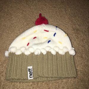b2dd65ada39 Neff Brand Cupcake Beanie Knit Winter Hat